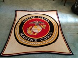 US Marines Blanket Made in USA
