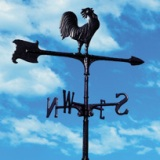 "30"" Rooster Accent Weathervane American made"