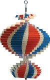 American  Made Wind Spinner, Red, White, and Blue