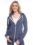 Unisex Organic Fleece Zip Hoody Made in America