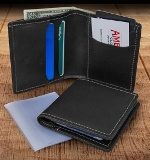 Bifold Leather Wallet American Made