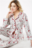 Bow Eiffel Tower Flannel L/S Classic PJ Made in America by Bedhead Pajamas
