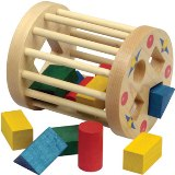 Maple Landmark Cage Shape Sorter Made in USA