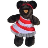 Candy Cane Stuffed Animal Toy Made in USA