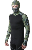 WikMax HEATR� Digital Camo Hooded Shirt Made in USA