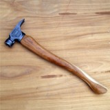 The Original Hardcore Hammer Made in America - Natural (Curved Handle)