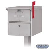 Roadside Mailbox with Locking Door - American Made