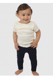 Infant Combed Spandex Jersey Leggings Made in America