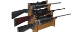 Tabletop Rifle Display Rack Made in America