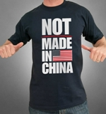 Not Made in China Tee Made in USA