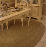Duet Braided Area Rug Made in America by Rhody Rugs