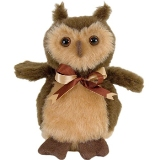 Stuffed Owl Made in America Hootie Owl