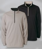 MEN'S QUARTER-ZIP FASHION LONG SLEEVE SHIRT MADE IN AMERICA