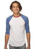 Unisex Americana Raglan Baseball Shirt Made in America