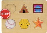 Puzzle, Shapes & Objects Puzzle Made in USA by Maple Landmark