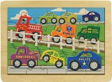 Busy Highway Puzzle Made in America by Maple Landmark