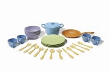 Green Toys Cookware & Dining Set American Made