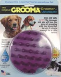 Dog/Cat  Grooma - Wet/dry rubber grooming brush Made in USA
