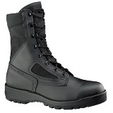 300 TROP ST - Hot Weather Black Safety Toe American Made Boot