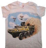 Kids Army T-Shirt Made in USA