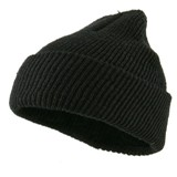 Military Wool Cuff Beanie Made in America