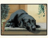 Black Lab Porch Doormat Made in America
