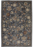 Mohawk Dryden Emerson Abyss Blue Area Rug Made in America