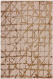 Karastan Enigma Contact Brushed Gold Area Rug Made in America