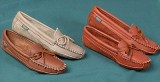 Canoe Sole Moccasins - Cowhide - American Made by Footskins