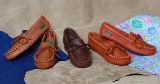 Footskins Children's Softsole Moccasin  - Made in USA