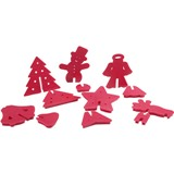 3-D Cookie Cutters Holiday Christmas Series Set Made in USA