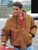 Men's Hooded Canvas Duck Jacket - Cumberland - Made in USA