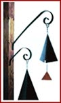 "Scroll hanger Bracket  11"" for Wind Bell"