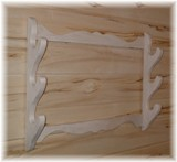 Hardwood Gun Rack Made in USA