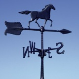 "24"" Horse Accent Weathervane American made"