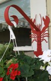 Red Lobster Garden Hanger Made in America