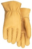 Premium Grade Smooth buckskin Gloves American Made
