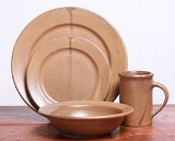 Go Green Dinner Set for 4 American Made by Emerson Creek Pottery