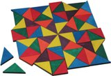 Mosaic Triangles, 96 piece Made in USA