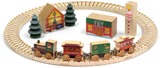 "Maple Landmark North Pole Village Railway Set Made in America - <FONT FACE=""Times New Roman"" SIZE=""+1"" COLOR=""#FF0000""> On Sale Now! </font>-"