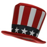 Uncle Sam Mad Hatter Hat Made in America