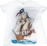 Kids Pirate T-Shirt Made in America