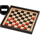 Maple Landmark Checkers - Premium Checker Board (Only)