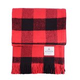 Rob Roy Check Cotton Throw Made in USA