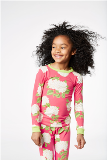 BedHead Pajamas Rouge Hydrangea Stretch Kids' 2pc Pjs Made in America