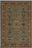 Karastan Spice Market  Keralam Aquamarine Area Rug Made in USA