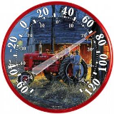 12.5 Starting Them Young Tractor Thermometer American Made