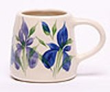 Set of 4 Classic Ceramic Mugs American Made - 12 oz.
