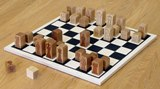 Chess Pieces with Basic Board - Made in USA