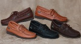 Footskins Lace-Up Shoe/Crepe Sole American Made Shoes
